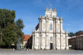 St joseph the guardian church historic in warsaw poland Royalty Free Stock Photos