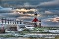 St Joseph Lighthouse Royalty Free Stock Photo