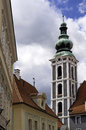 St jost church in cesky krumlov czech republic Royalty Free Stock Photo