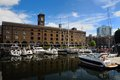 St katharine dock Royalty Free Stock Photo