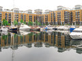 St katharine docks london uk Royalty Free Stock Images