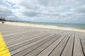 St Kilda Boardwalk, Australia Stock Image