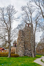 St Lars church ruin in Sigtuna Royalty Free Stock Photo
