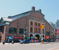 St lawrence market is one of the biggest in toronto canada Royalty Free Stock Photography