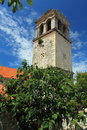 St lawrence monastery in sibenik the tower of croatia Stock Images
