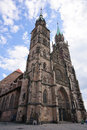 St. Lorenz Church - Nürnberg/Nuremberg, Germany Royalty Free Stock Photography