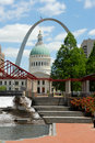 St Louis - Arch Royalty Free Stock Photo