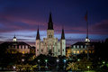 St. Louis Cathedral In Jackson...
