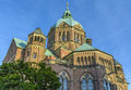 St. Lukas Church in Munich, Bavaria, Germany Royalty Free Stock Photo