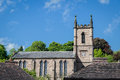 St Luke`s Church in Ironbridge, Shropshire Royalty Free Stock Photo