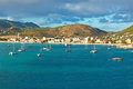 St maarten scenic view of dutch side in the caribbean Royalty Free Stock Images