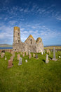 St Magnus Church, Egilsay, Orkney, Scotland Royalty Free Stock Photo