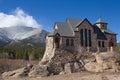 St Malo, Church on the Rocks, Allenspark, Colorado Royalty Free Stock Photo