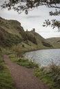 St. Margaret's Lock, Holyrood Park, Edinburgh Royalty Free Stock Photo