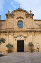 St maria degli angeli church san vito dei normanni puglia perspective of the Royalty Free Stock Image