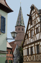 St maria am see kapelle view to chapel in bad windsheim germany Stock Image