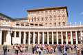 St mark place vatican rome italy Fotografia Stock