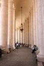 St mark place vatican rome italy Imagen de archivo libre de regalías
