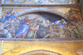St Mark's Basilica mosaics details Royalty Free Stock Photo