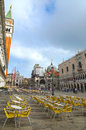 St mark s square in venice italy Stock Photo
