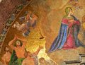 St. Mark's Cathedral, religious golden mosaic Royalty Free Stock Photo