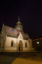 St. Marko`s church in Zagreb