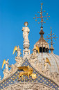 St. Marks Cathedral in Venice, Italy Royalty Free Stock Photos