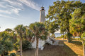 St marks national wildlife refuge lighthouse florida the light is the second oldest light station in Stock Photo