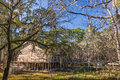 St marks national wildlife refuge visitor center florida near tallahassee established in this is one of the oldest Stock Photography
