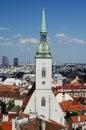St. Martin cathedral in Bratislava