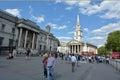St Martin-in-the-Fields Trafalgar Square London England