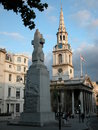 St martin in the fields london trafalgar square uk Royalty Free Stock Image