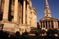 St-Martin-i--Fält & det nationella gallerit Royaltyfri Bild