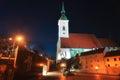 St. Martin`s Cathedral in Bratislava