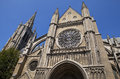 St. Martin's Cathedral in Ypres, Belgium Royalty Free Stock Photo