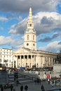 St martin s field trafalgar square london england Royalty Free Stock Photography