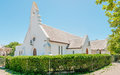 St mary anglican curch in stellenbosch building commenced Stock Photos