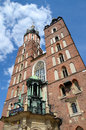 St. Mary's Church in Cracow, Poland Royalty Free Stock Photo