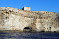 St mary s tower comino or santa maria maltese it torri ta santa marija is a fortification on the island of in the malta Stock Image