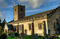 St marys church kirkby lonsdale of mary the virgin in dating back to norman times Stock Photos