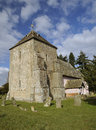 St marys norman church th century kempley newent gloucestershire Stock Photo