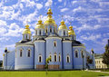 St. Michael cathedral in Kyiv, Ukraine Royalty Free Stock Photography
