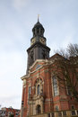 St michael church hamburg germany view of Stock Photos