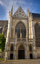 St. Michael and Gudula Cathedral.Brussels Royalty Free Stock Photography