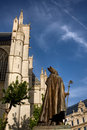 St. Michael and Gudula Cathedral. Brussels Royalty Free Stock Photo
