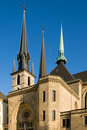St Michael's Church, Luxembourg Royalty Free Stock Photo