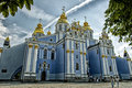 St.Michael's Golden Domed monastery Royalty Free Stock Images