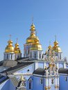 St. Michael's Golden-Domed Monastery Royalty Free Stock Image