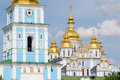St. Michael's Golden-Domed Monastery in Kiev Royalty Free Stock Photo