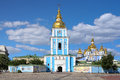 St. Michael's Golden-Domed Monastery in Kiev Stock Photos